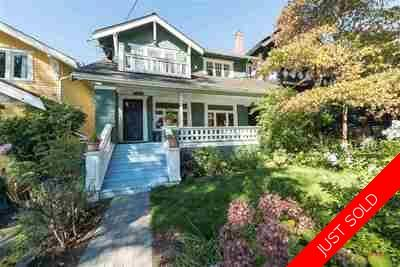 Kitsilano House for sale:  4 bedroom 2,838 sq.ft. (Listed 2017-05-01)