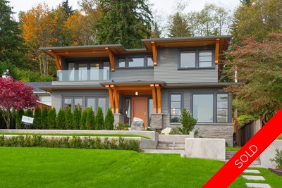 North Vancouver Calverhall view home for sale: 5 bedrooms 3,775 s/f