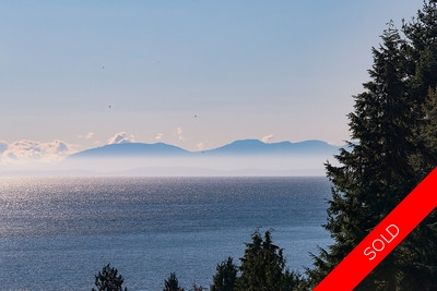 West Vancouver Cypress Home for sale with stunning ocean views