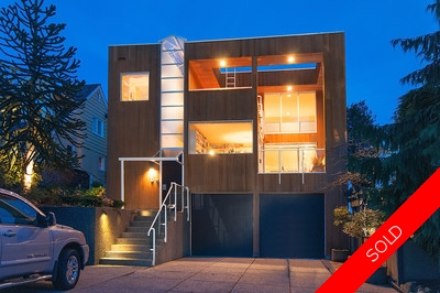 West Vancouver Sentinel Hill Custom Architect-Built Ocean View Home