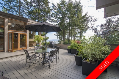 West Vancouver Rockridge House for sale: 4 bedroom 3,620 sq.ft.
